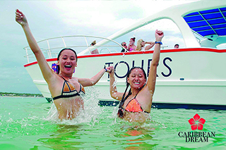 Combo Catamaran + Aquapark + Lunch $99