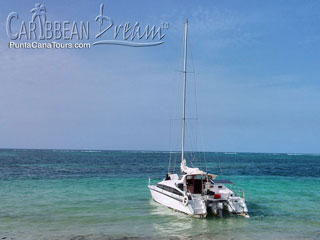 Catamaran Tropical Island