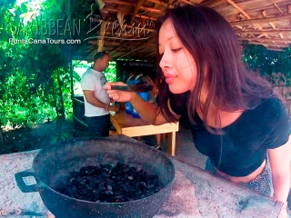 Cacao Beans Cooking