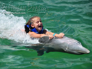 Dolphin Belly Ride