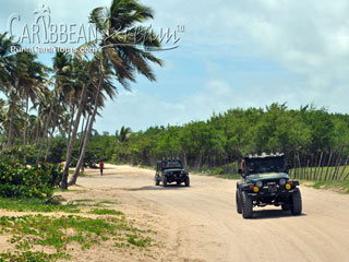 Beach on Jeep Safari