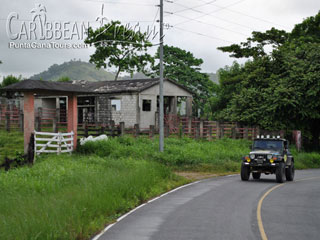 Jeep Safari Rural Area