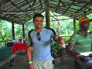 Playing with a Snake in Los Haitises