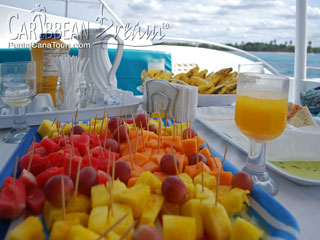 Isla Saona Excursions Food