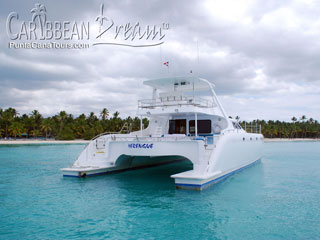 Private Boat to Isla Saona