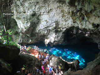 Tres Ojos Cave in Santo Domingo