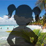 Isla Saona Child