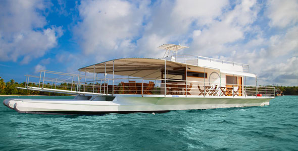 Punta Cana Wedding Boat