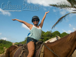 Beach Horseback Riding From $49