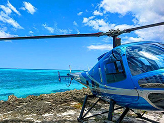 Saona Island by Helicopter