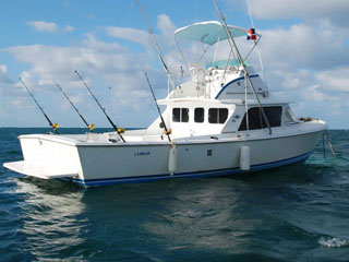 Private Charter Fishing Boat