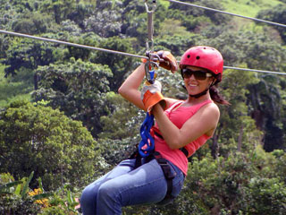 Zipline Canopy Adventure From $59