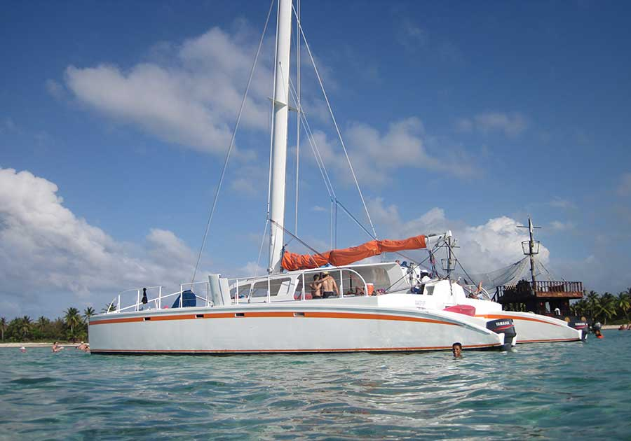 Big Bebe Catamaran Sailboat