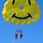 Happy Face Parachute